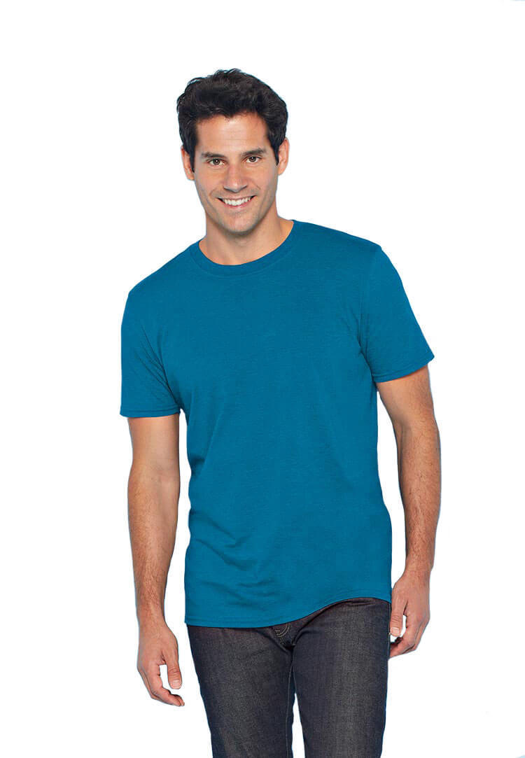 Male shirt blue